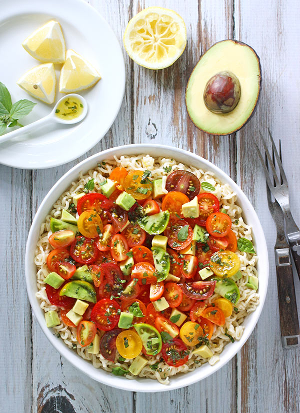 Avocado-Basil Rice With Tomatoes Recipes — Dishmaps