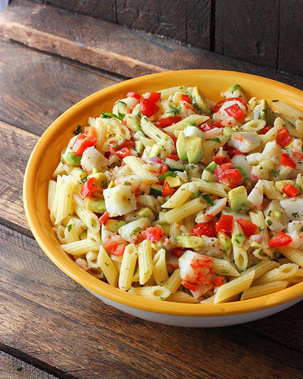 Crab Pasta Salad   www.pixshark.com - Images Galleries ...