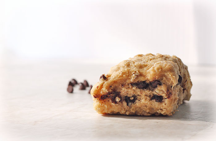 Brown Butter Chocolate Chip Scones by SoupAddict.com