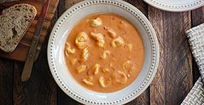 Creamy Tomato Tortellini Soup | SoupAddict.com