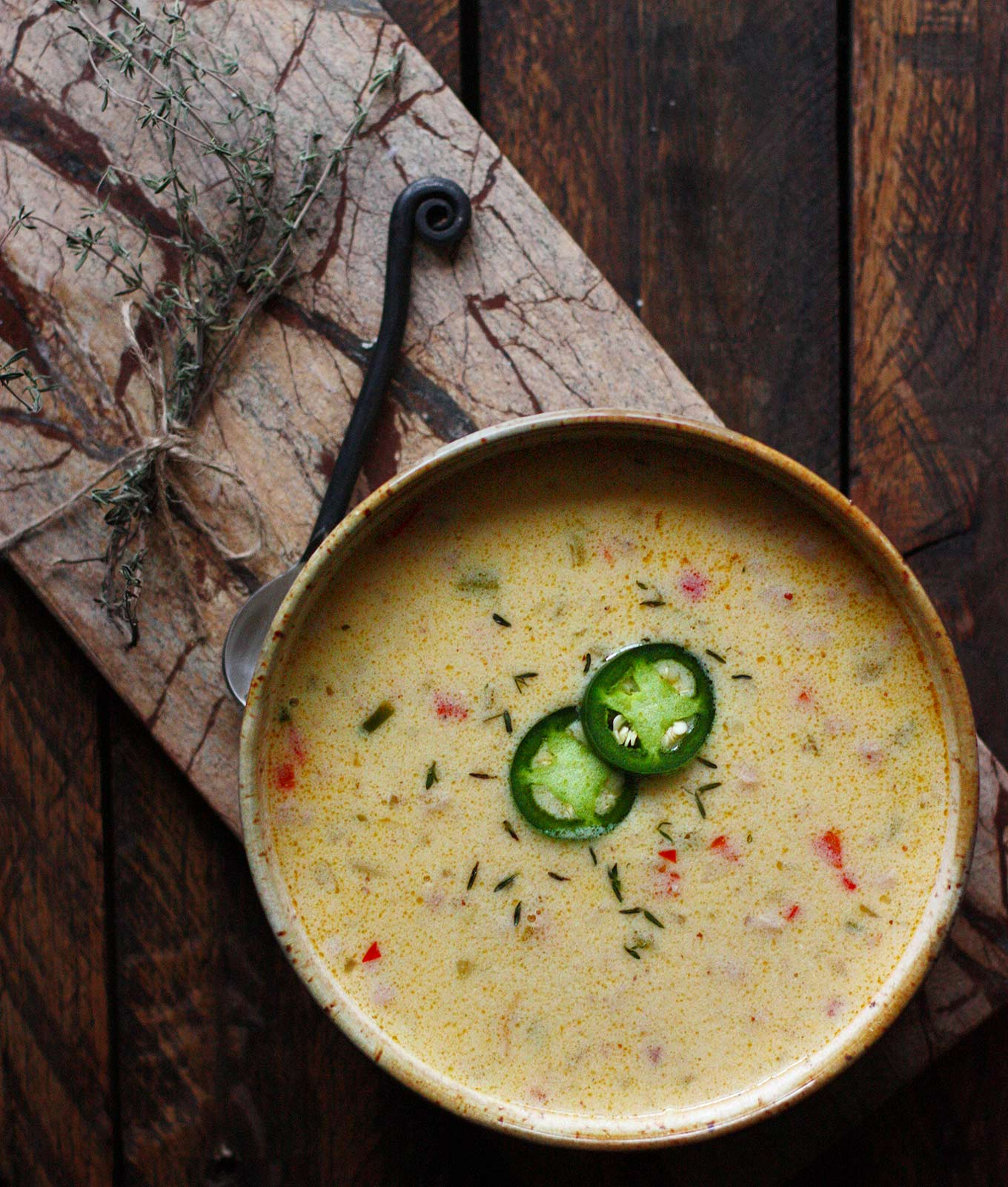 Jalapeño Beer Cheese Soup | SoupAddict.com