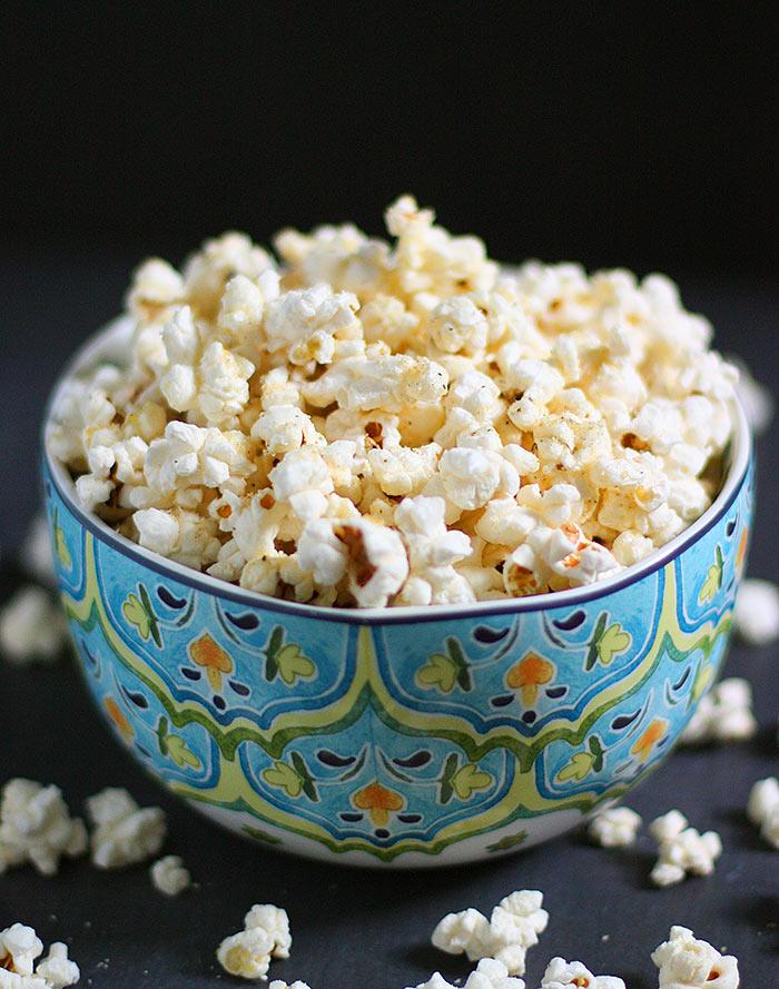 Parmageddon Popcorn - the Best Homemade Popcorn | SoupAddict.com