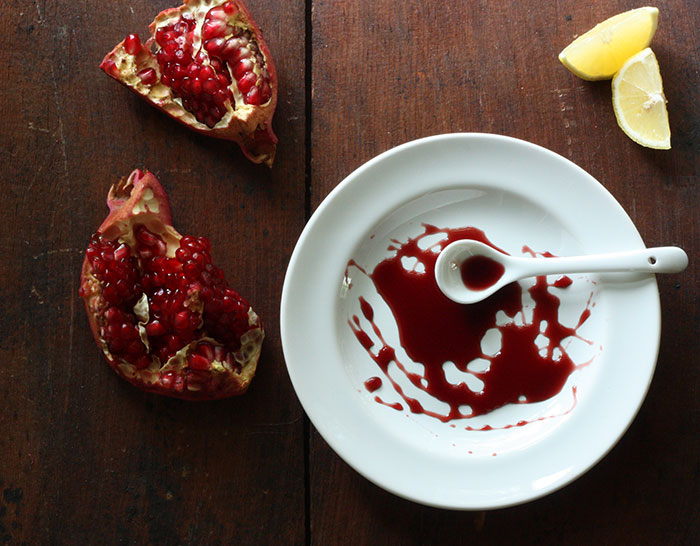 Homemade Pomegranate Molasses from SoupAddict.com