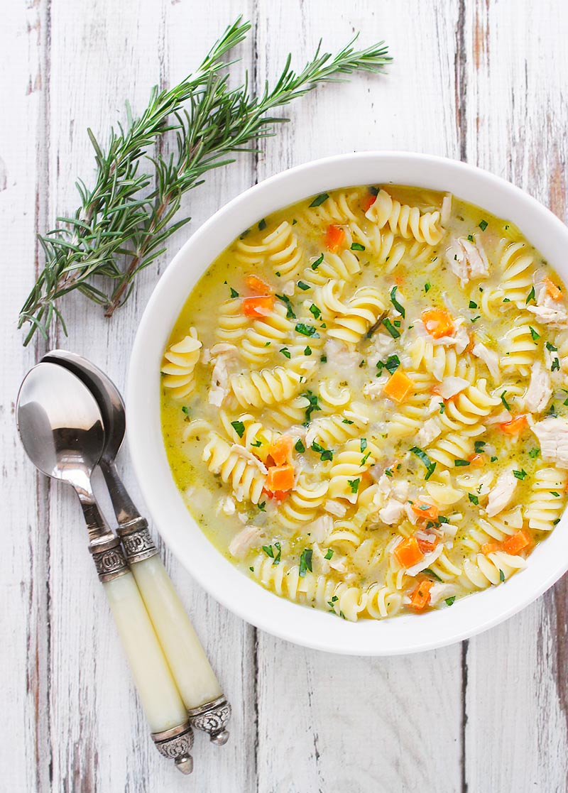 can absolutely use lemon zest and lemon juice in this soup but the ...