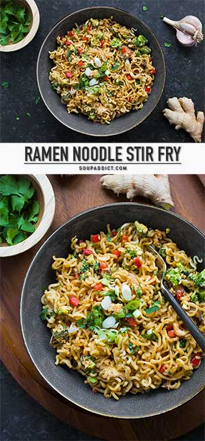 how to make stir fry noodles with ramen