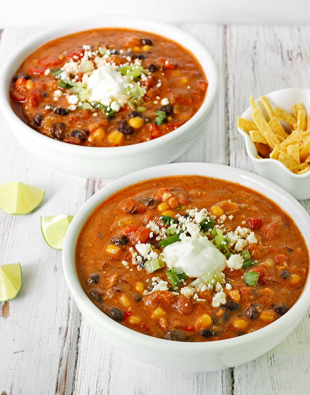 Sausage & Black Bean Enchilada Soup from Soupaddict.com