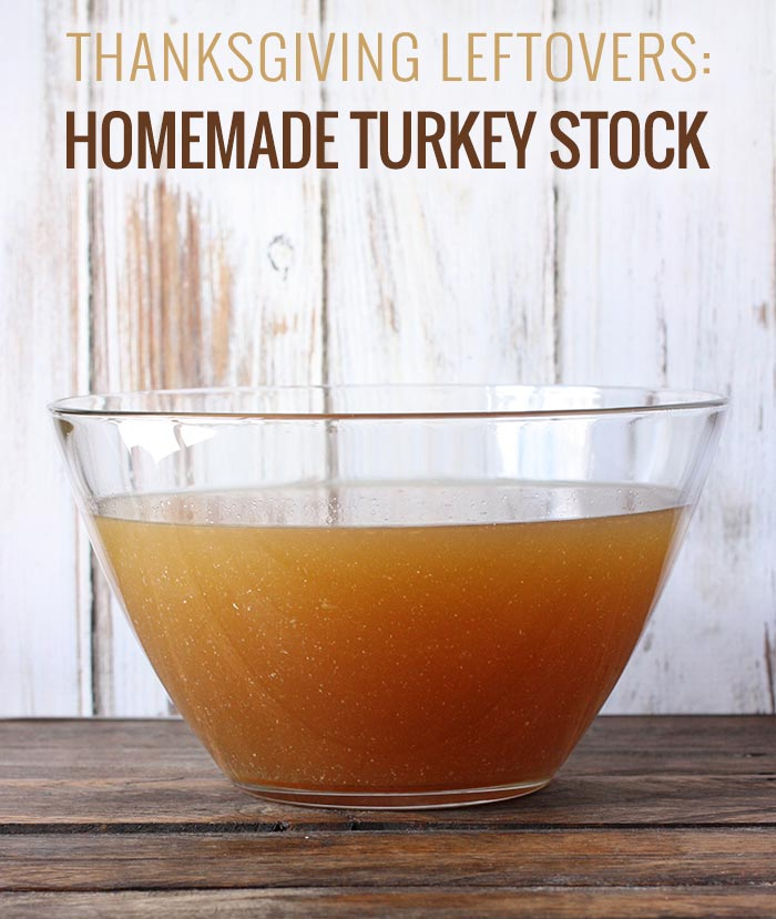 Slow Cooker Turkey Stock | SoupAddict.com